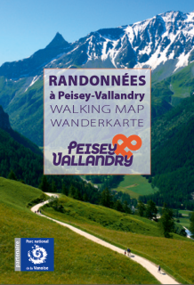 Wanderkarte Peisey Vallandry