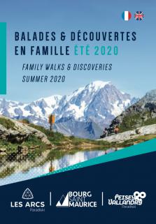 Wanderwege Bourg-Saint-Maurice Sommer 2020