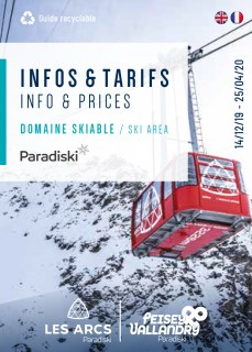 Infos & tarifs domaine skiable hiver 2019-2020