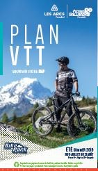 Plan VTT Bike Park  Les Arcs-PV été 2019