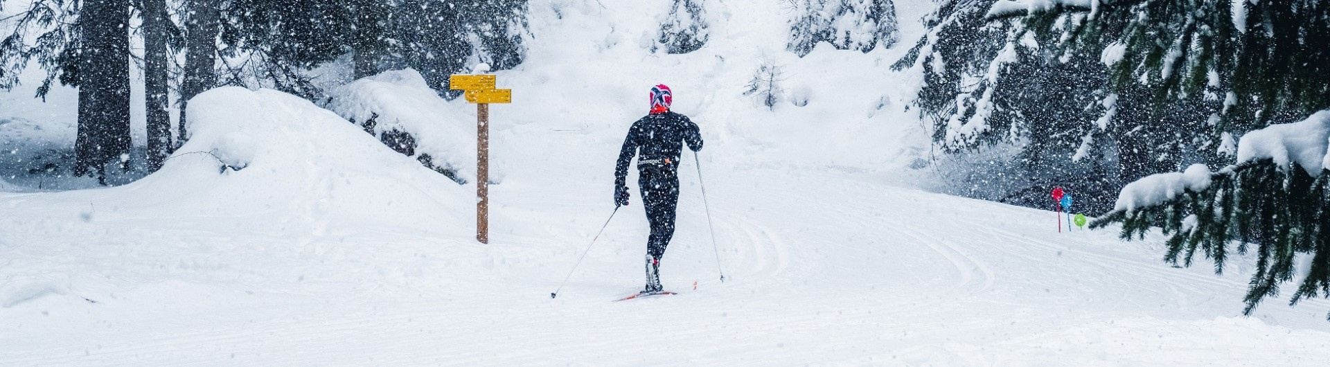 skieur-de-fond-Peisey Vallandry