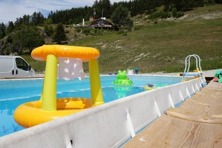 Schwimmbad in Plan-Peisey
