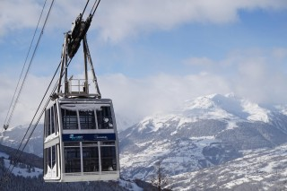 The Vanoise Express cable-car