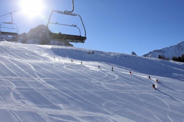 Alpine ski area