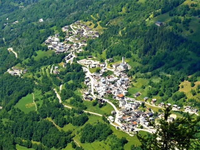 Au départ de Peisey, Villaret et Moulin