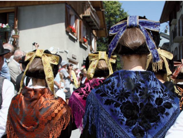 Kostüm und Bergfest