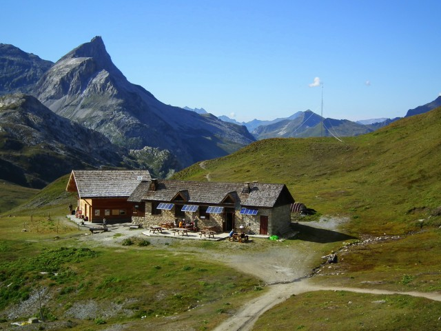 Berghütten im Sommer