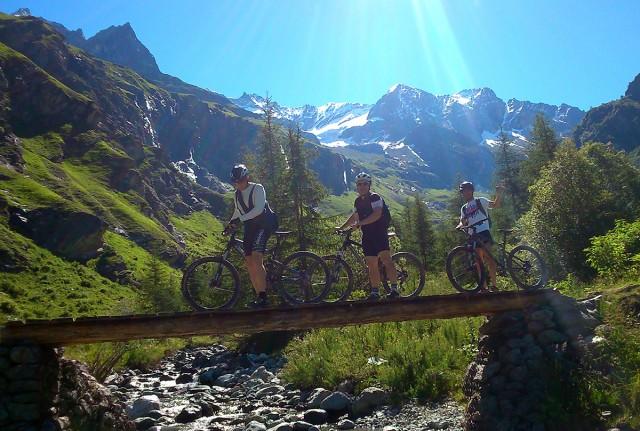 Mountainbike Schule