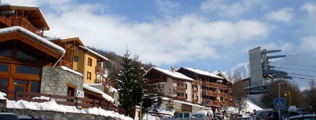 Alpin ski area