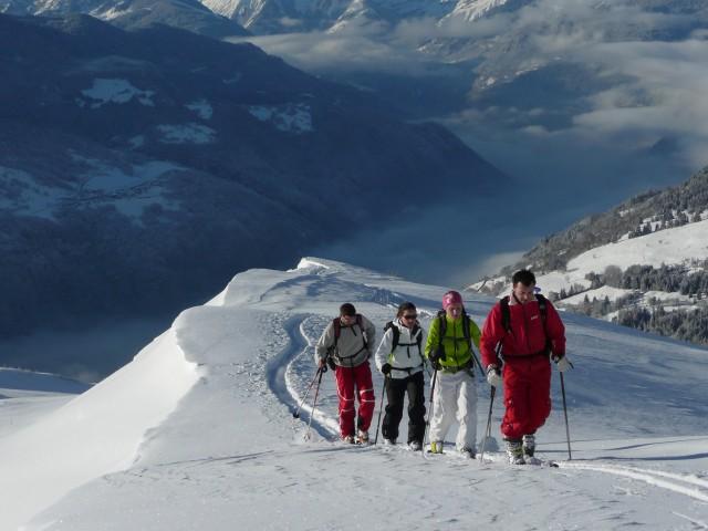 Ski de rando avec l'ESF