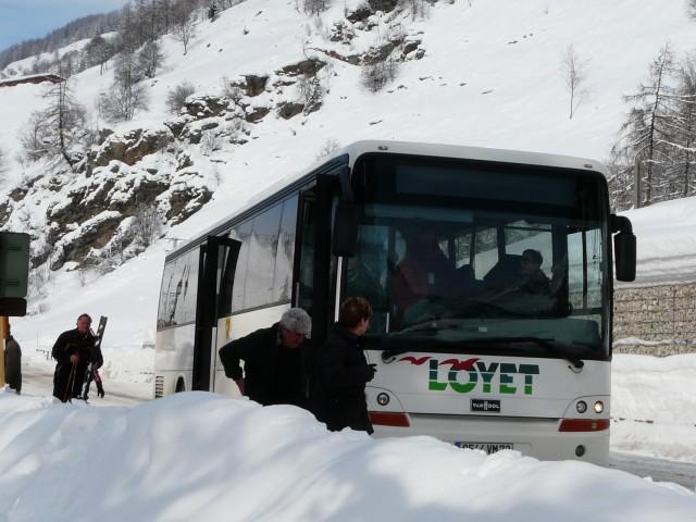 Navettes inter-villages hiver