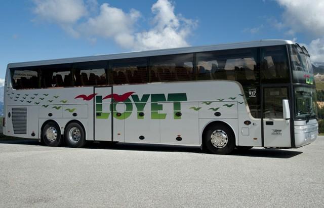 Shuttle buses in summer