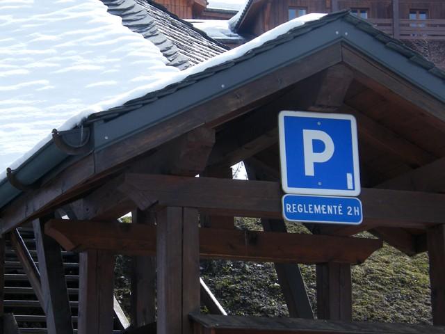 Kostenloser Parkplatz in Peisey-Vallandry