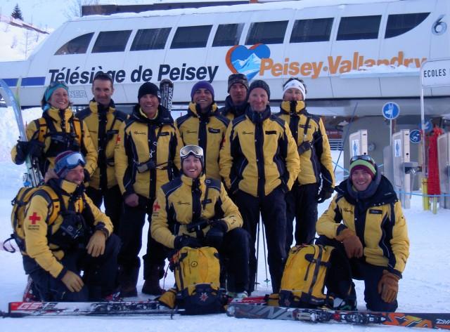 Safety on ski slopes