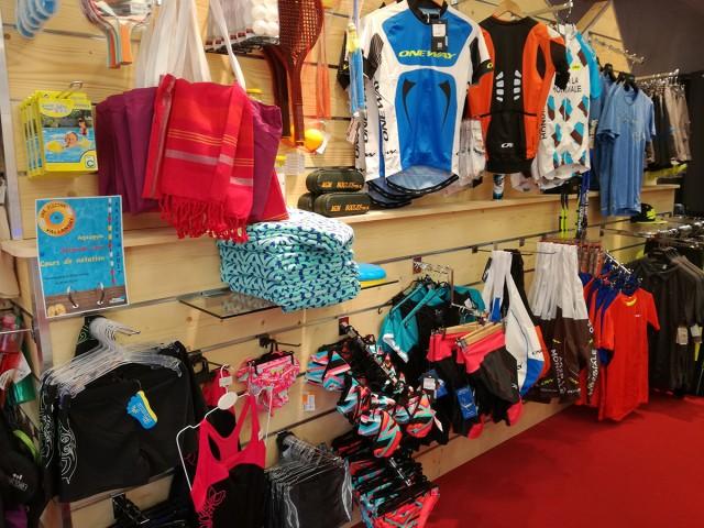 Sports Shops in Summer