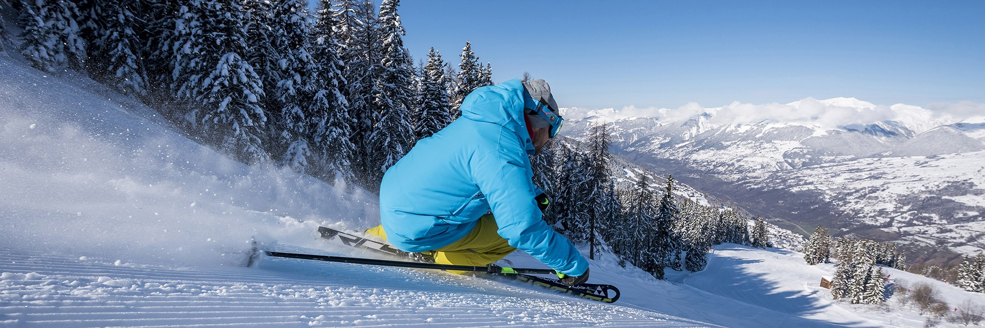 Piste de ski domaine Peisey-Vallandry Paradiski