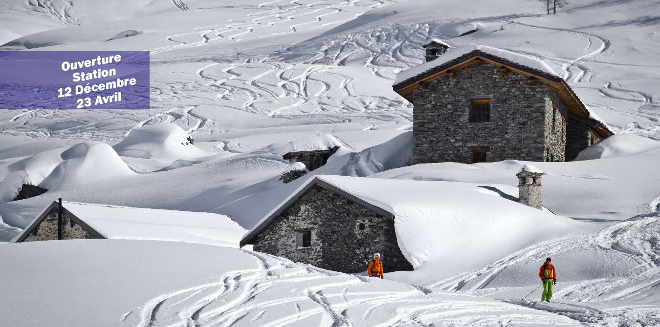 Ski grandeur nature en Savoie � Peisey-Vallandry