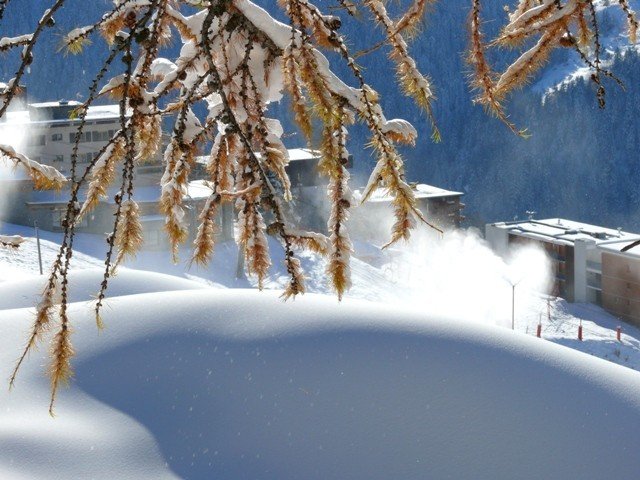 canons à neige à plan peisey