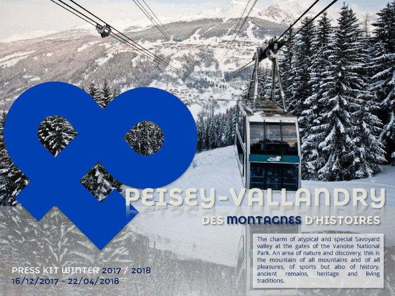 Press Kit Winter 2018 Peisey-Vallandry