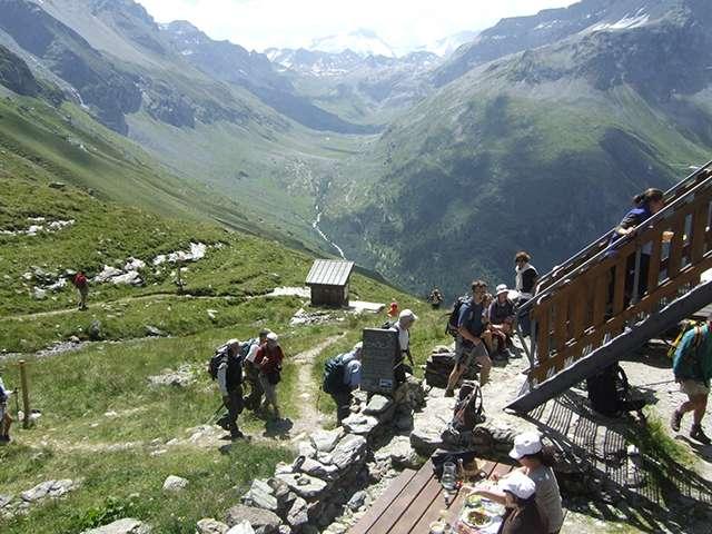 refuge mont-pourri tarentaise vanoise