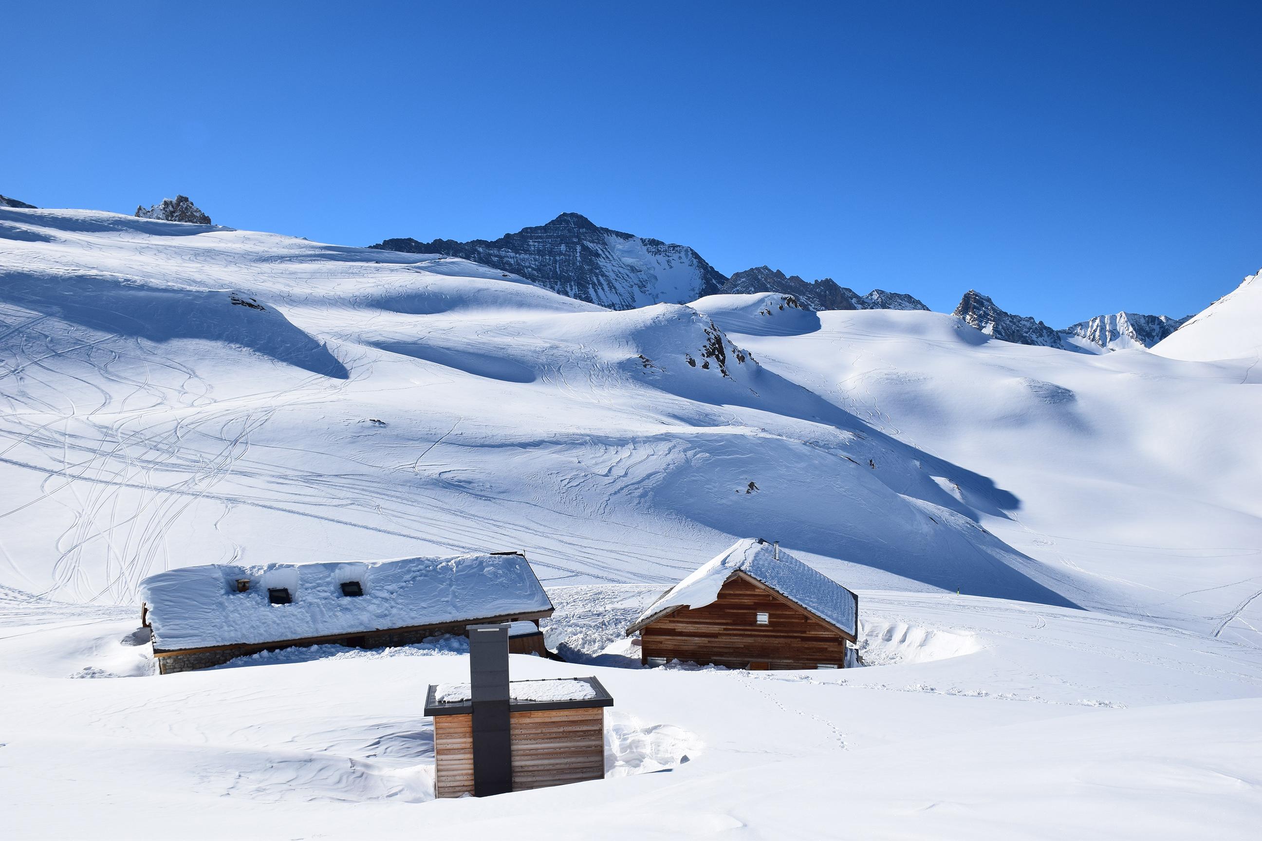 Col Du Palet Mountain Hut Esprit Parc Label Pnv Vanoise