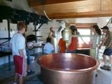 Fabrication du Beaufort d'Alpage