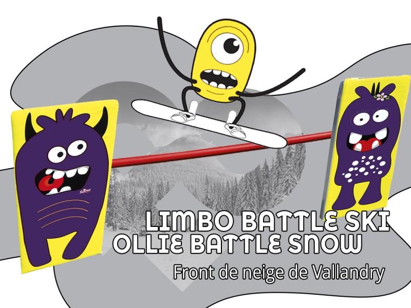 Ollie Battle Snow et Limbo Battle Ski