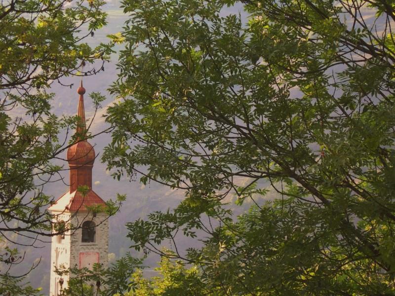 Landry : clocher église baroque St-Michel