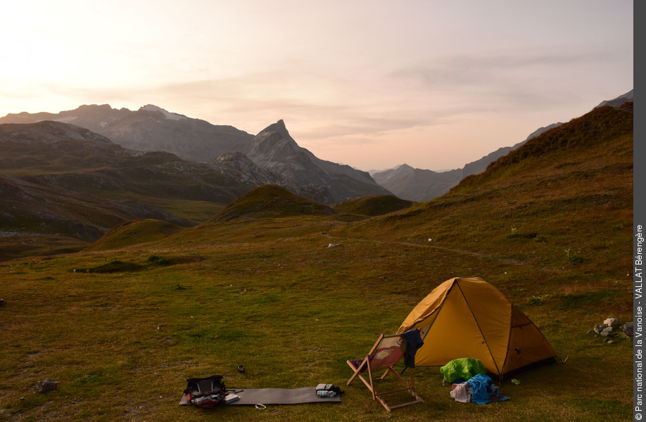 Between freedom and respect: the art of responsible bivouac in the heart of the Vanoise National Park - © berengere